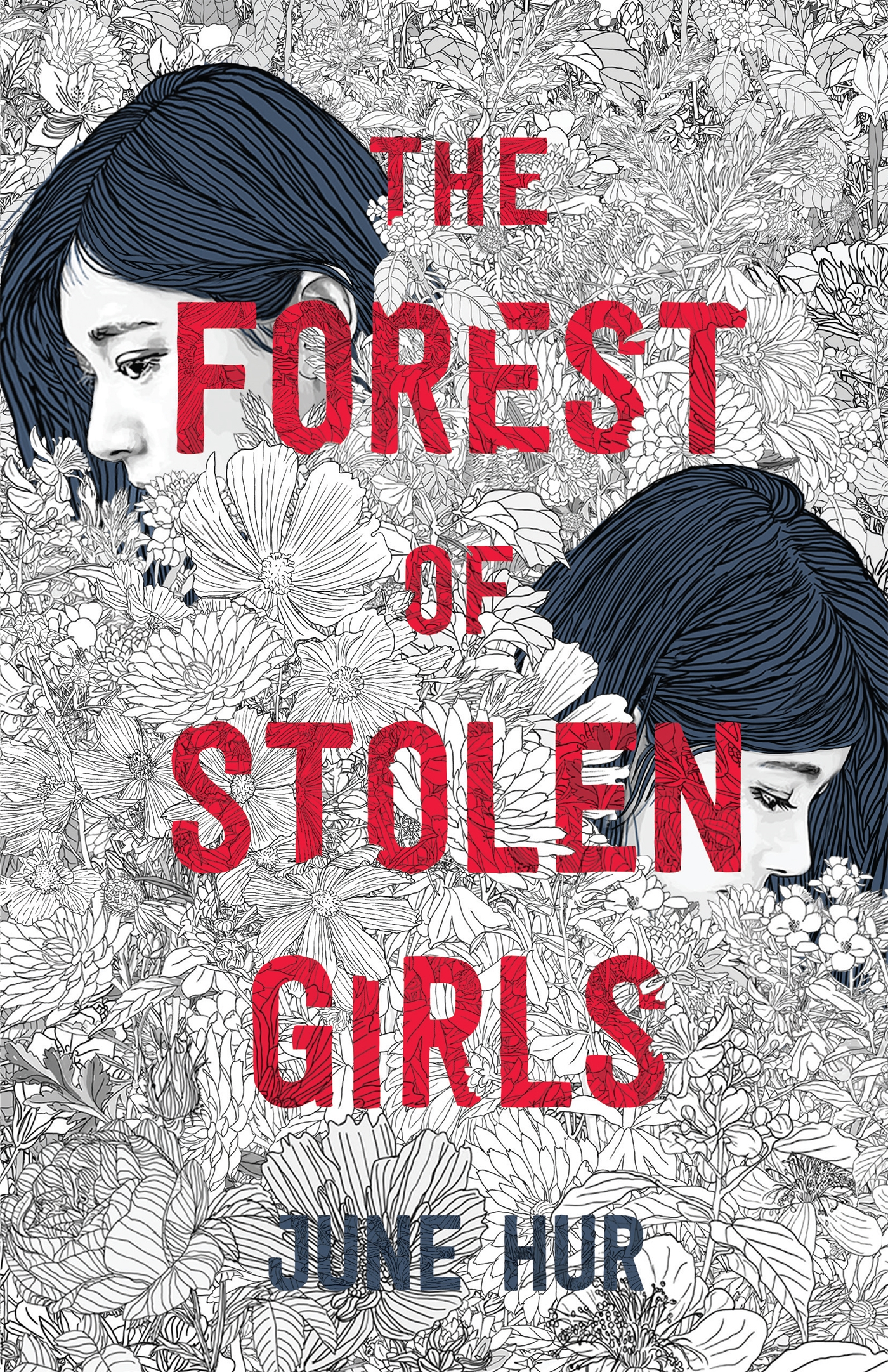Book cover: The Forest of Stolen Girls by June Hur