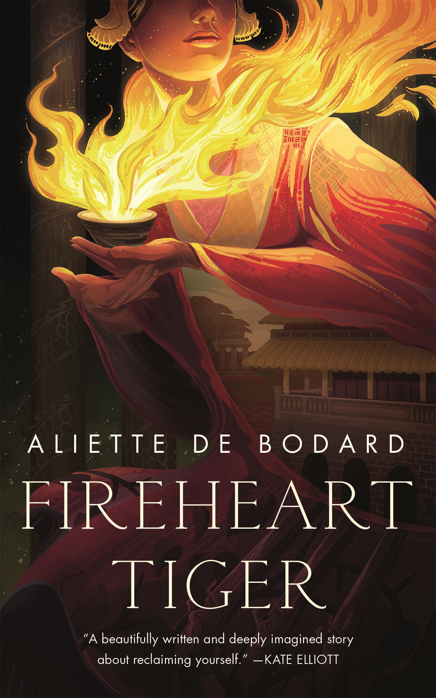 Book cover: Fireheart Tiger by Aliette De Bodard