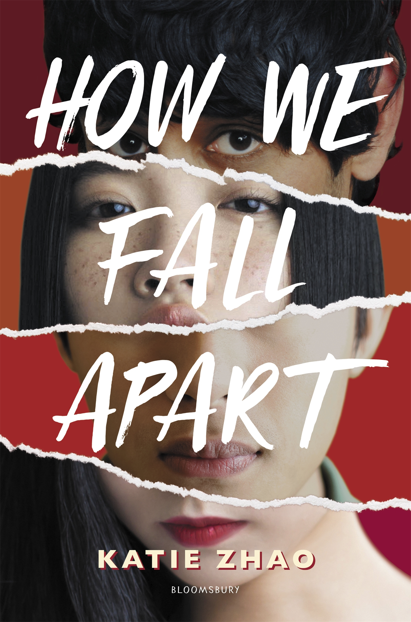Book cover: How We Fall Apart by Katie Zhao