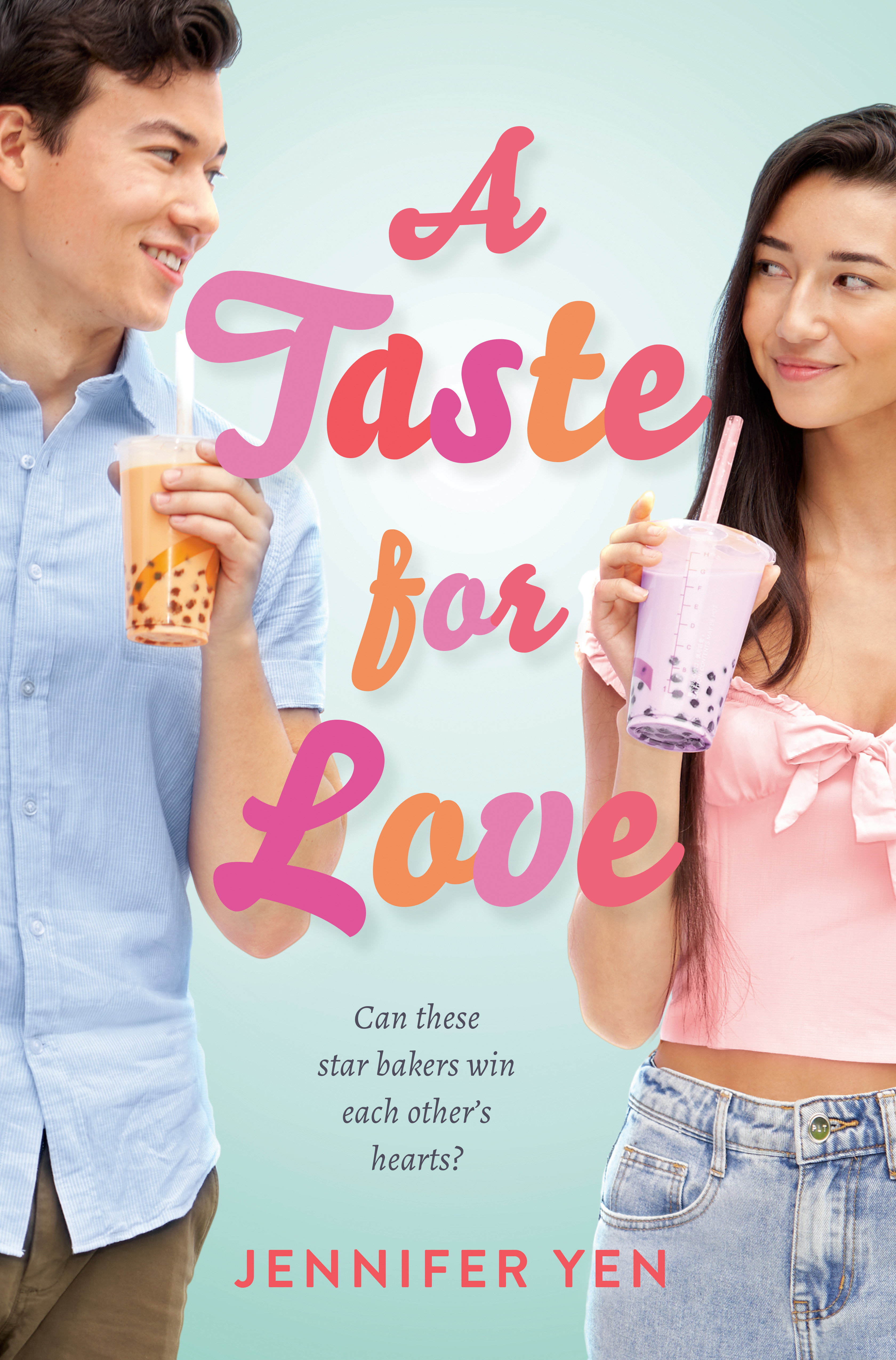 Book cover: A Taste for Love by Jennifer Yen