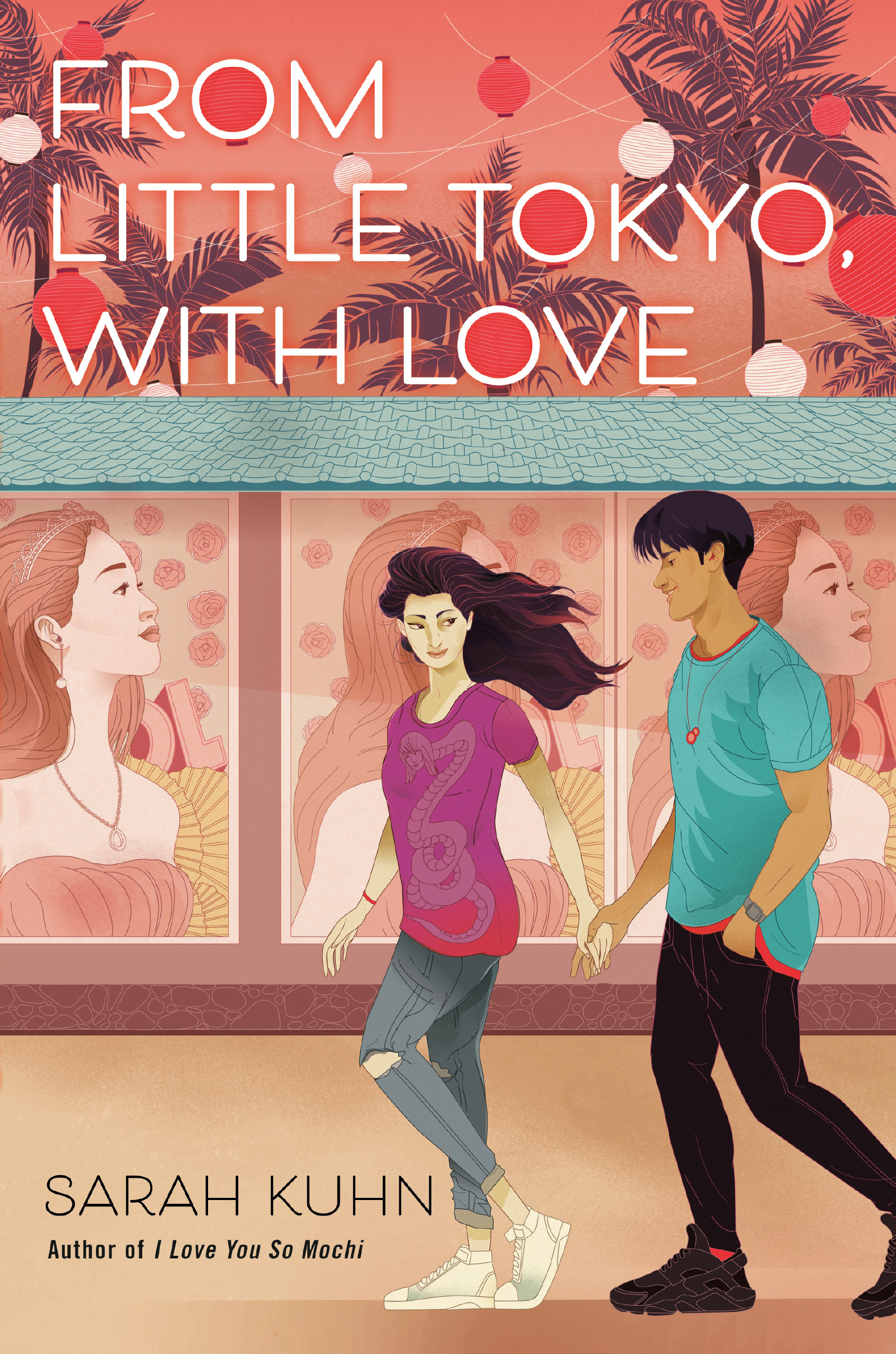 Book cover: From Little Tokyo, With Love by Sarah Kuhn