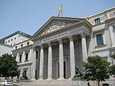 Las cortes Españolas, (1843-1850), madrid.