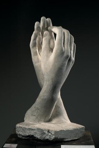 """Augusto rodin, """"el arca de alianza"""", escultura en piedra, (1908)"""