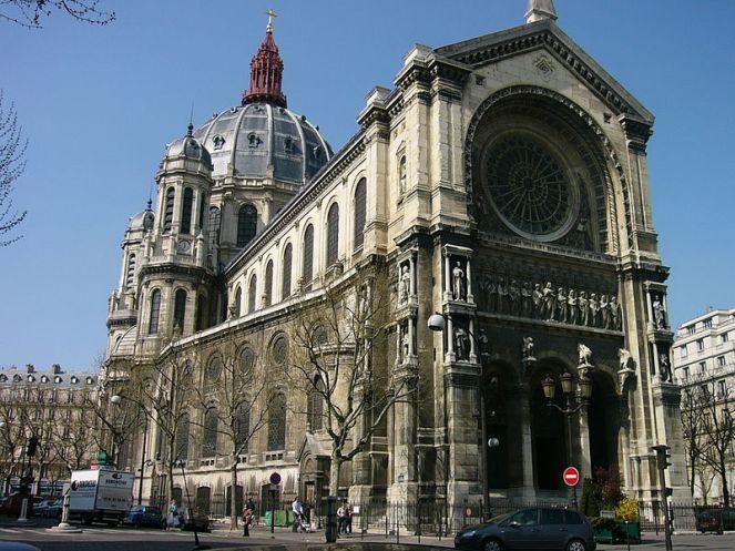 Victor Baltar, Iglesia de san Agustin, (1860-1871), francia.
