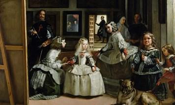 Velázquez: Las Meninas, óleo sobre lienazo (museo del Prado Madrid)