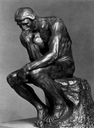 Rodin, el pensador, (1890)