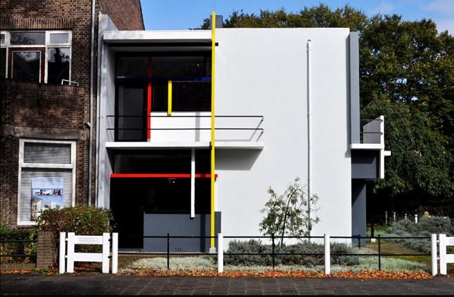 Gerrit Rietveld, Casa Schröder, 1924, Utrecht.
