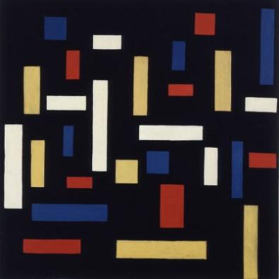 Theo Van Doesburg, composición número VII (Las tres gracias), 1917.