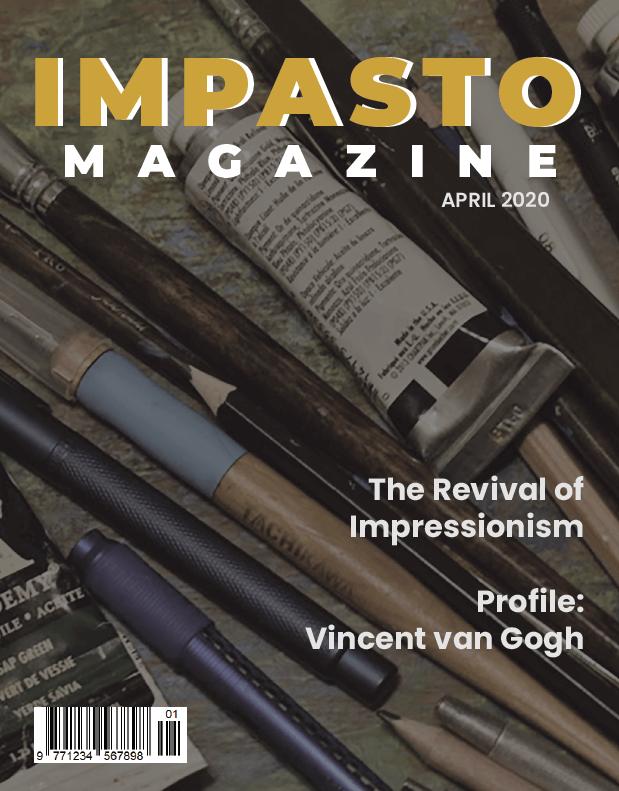 Cover for Impasto Magazine