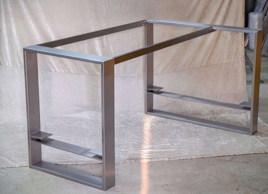 Tischgestell Couchtisch Edelstahl
