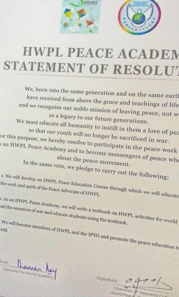 International Youth Peace Group