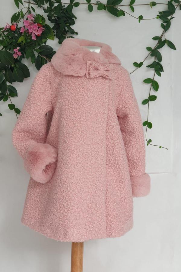 Manteau rose Mayoral 57 euros du 2 ans au 9 ans