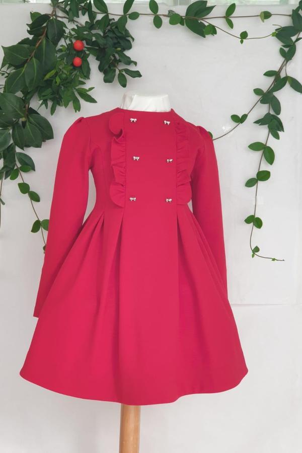 Robe Mayoral rouge 46 euros du 2 ans au 9 ans