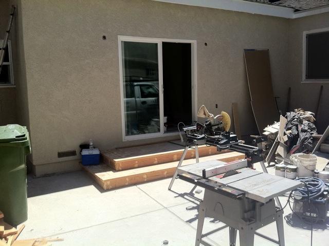 patio doors steps eden builders