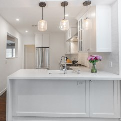 Kitchen Electrical Outlets Comfort Mats Remodeled Studio City With Barn Door Pantry Eden