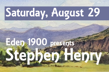 Eden 1900 Art Gallery to host three upcoming art events