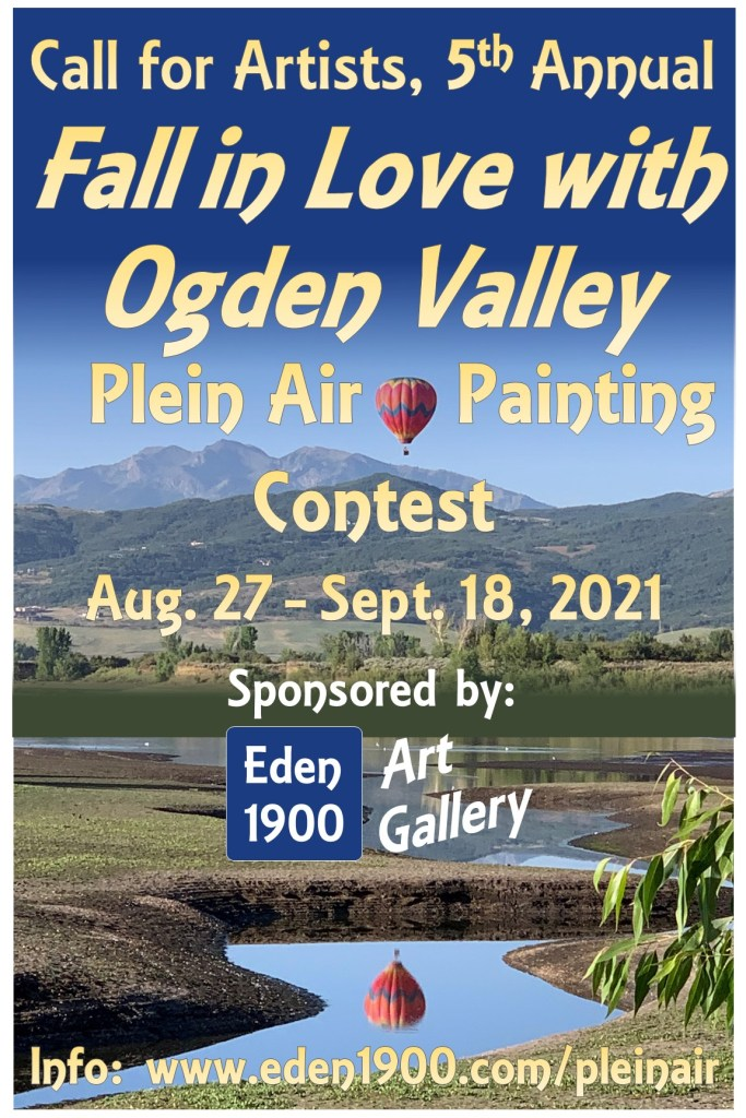 """Poster2021 1 683x1024 - """"Fall in Love with Ogden Valley"""""""