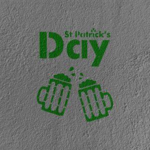 saint patrick's day beers vegetal color edencolor sur minéral