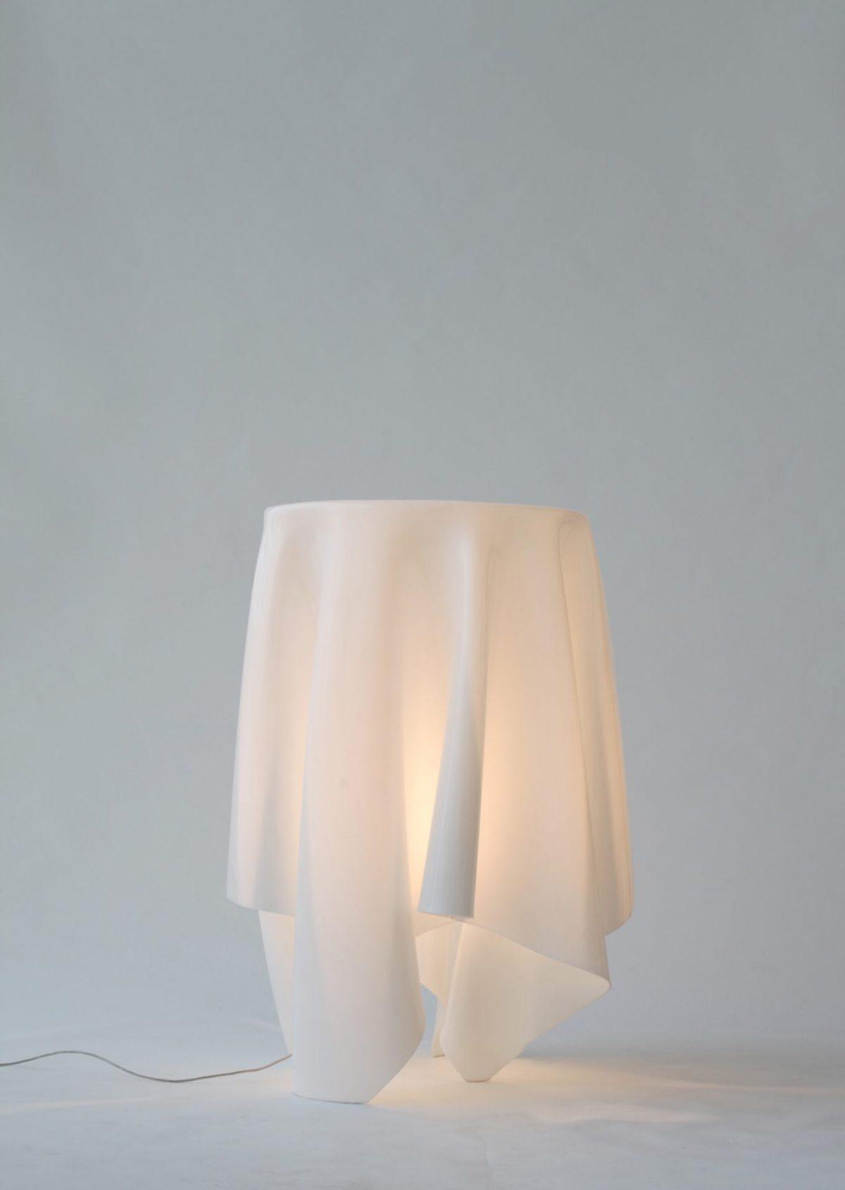 mobiliario jardín con luz led