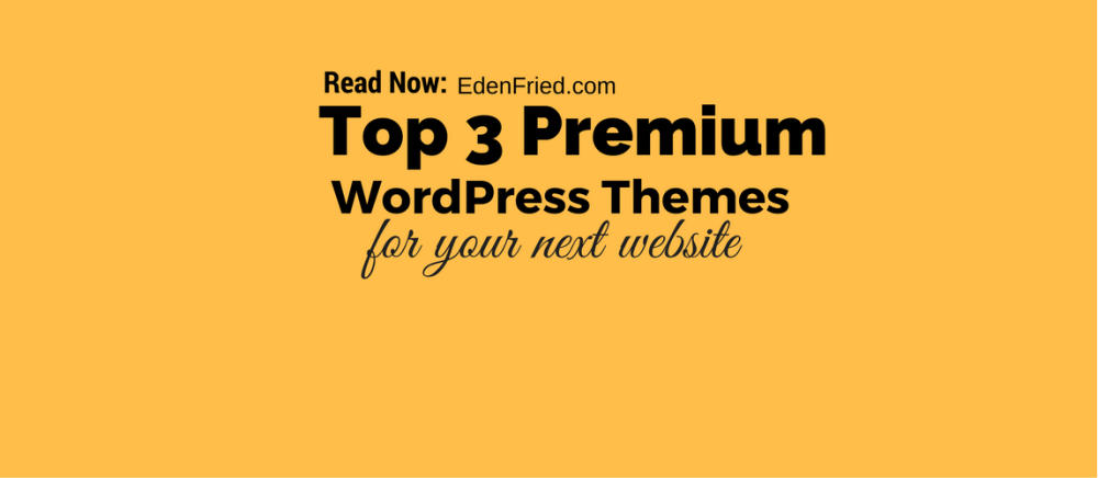 top premium wordpress themes for your website