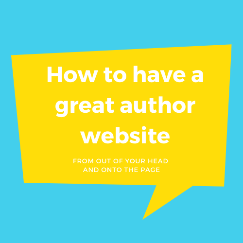 Have A Great Author Website
