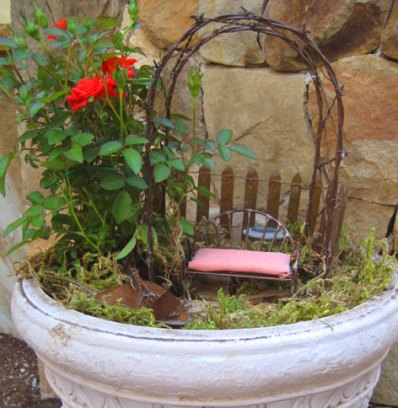 Miniature Rose Garden Container Idea Eden Makers Blog By