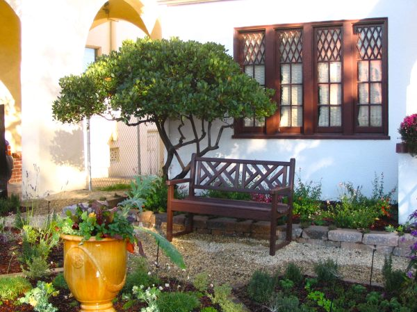 front yard landscaping bench pdf