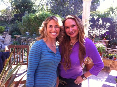 Host Julie Zwillich, Yahoo! Shine's More Family Fun Show and Shirley Bovshow