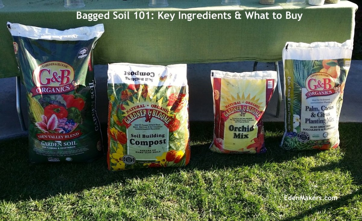 Quot Garden Soil 101 Common Soil Ingredients Eden Makers