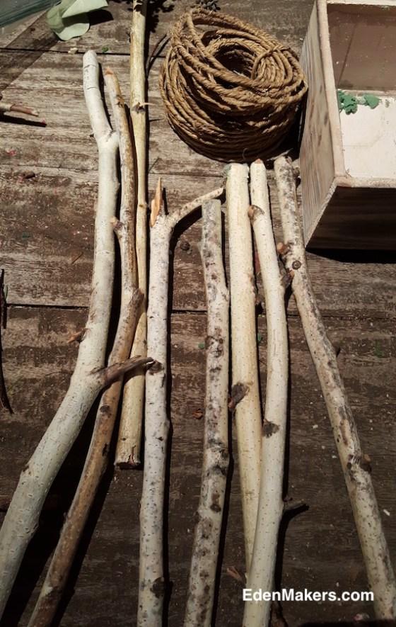 birch-tree-stems-cut-uniform-size-for-miniature-gazebo-edenmakers-blog