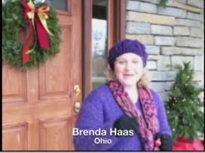 Garden World Report contributor, Brenda Haas of Ohio