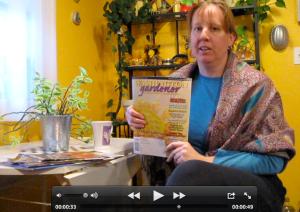 Kathy Jentz, editor and publisher of the Washington Gardener magazine
