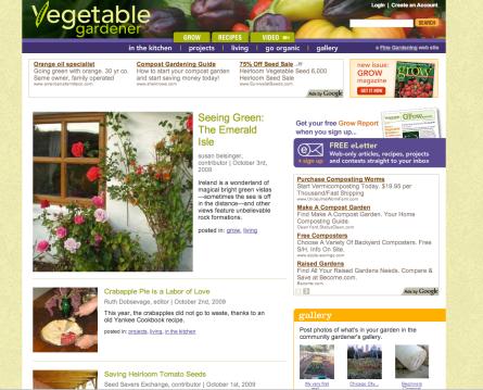 VegetableGardener.com