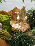 Japanese garden sculpture for bonsai