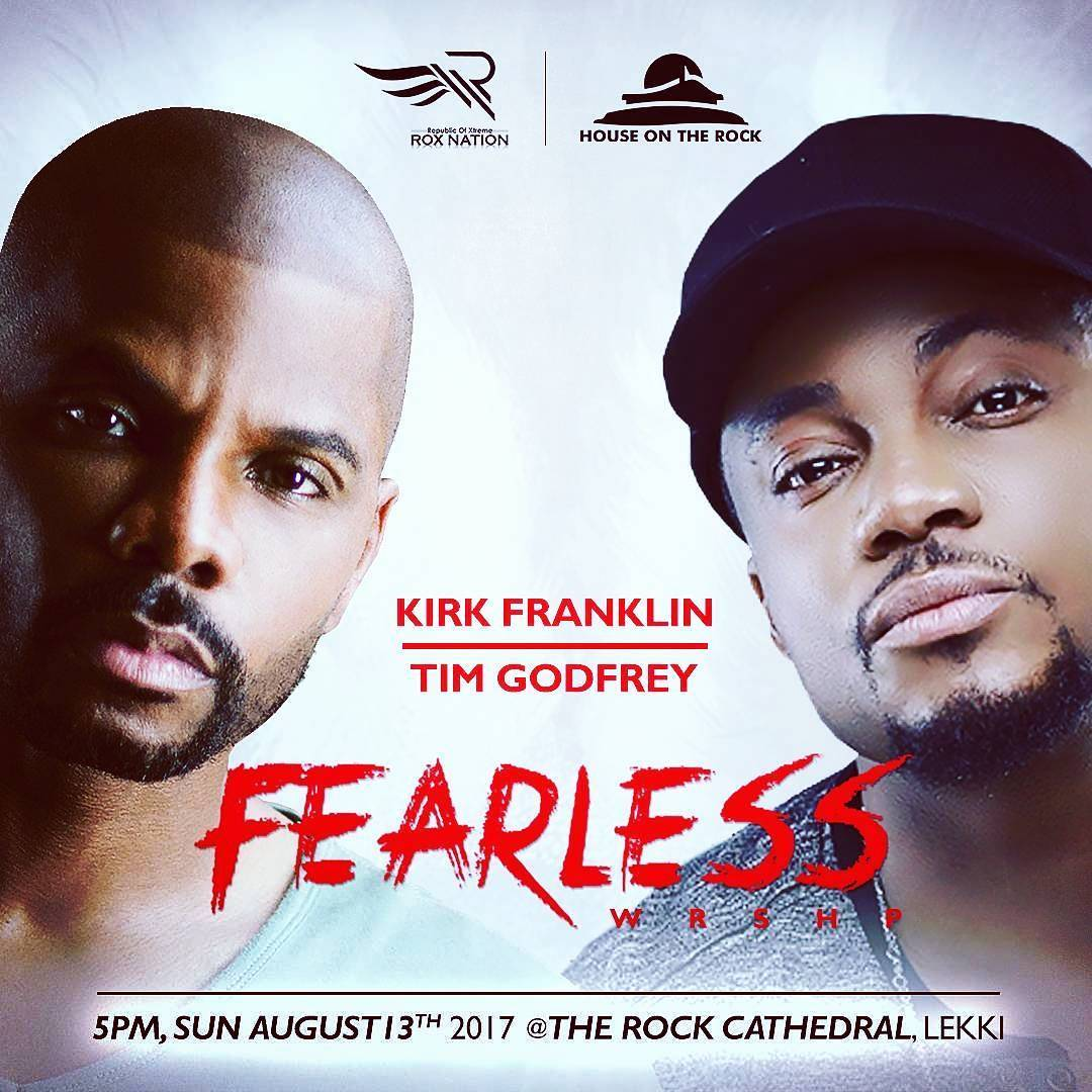 Tim Godfrey, Rox Nation, House On The Rock Lagos