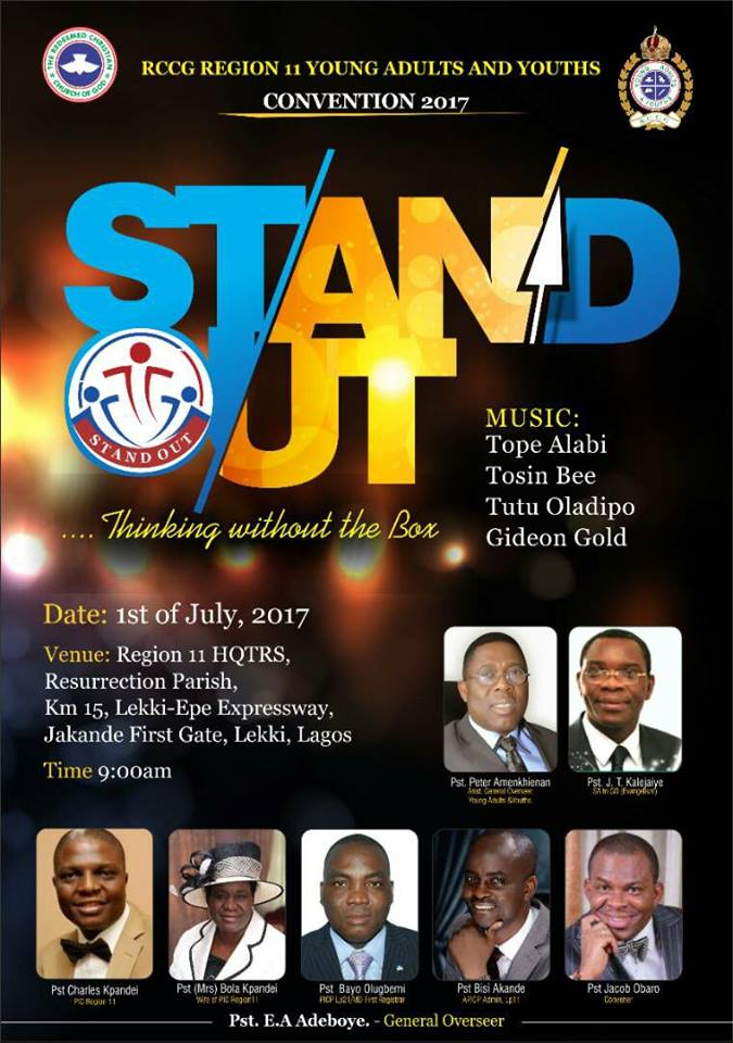 Stand Out - RCCG Region 11 Youth Convention