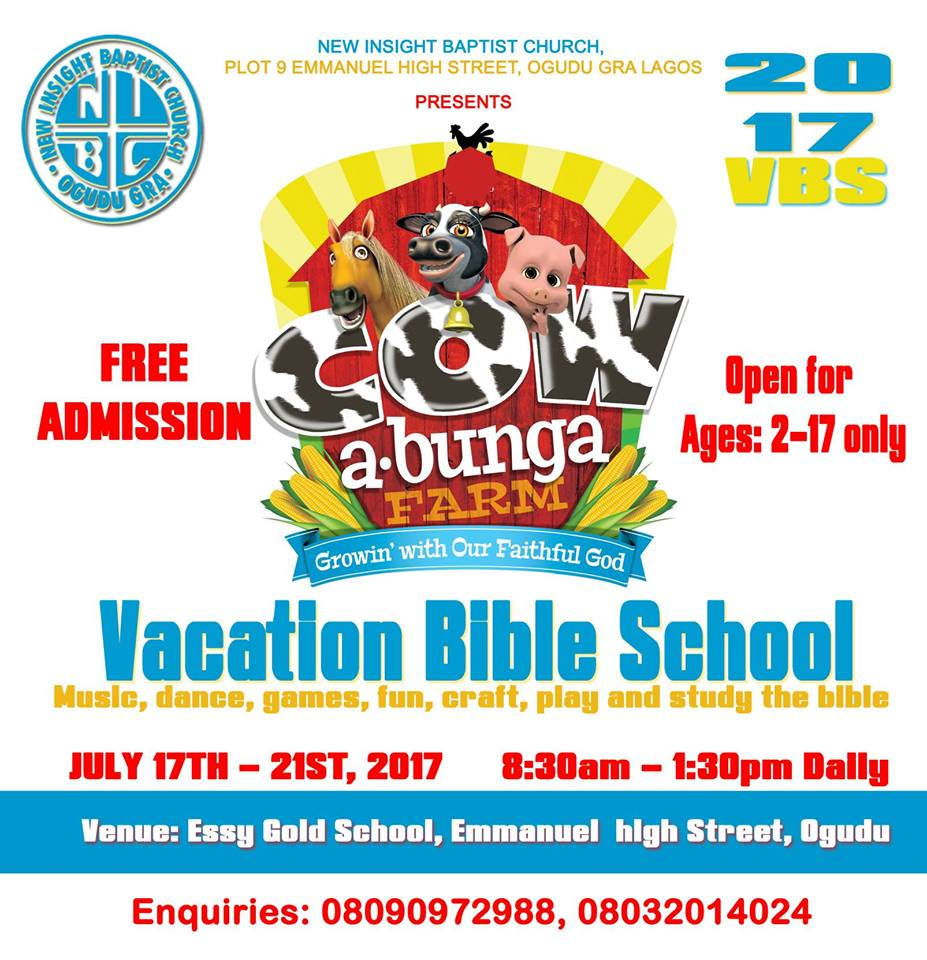 NIBC Vacation Bible School 2017