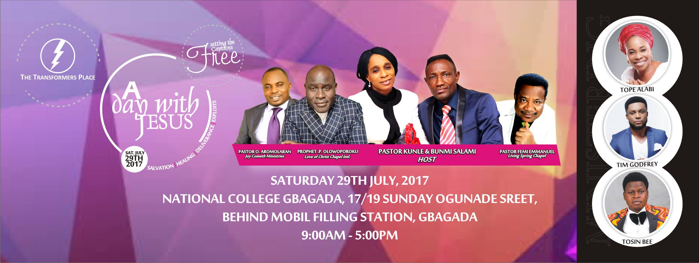 A Day With Jesus 2017