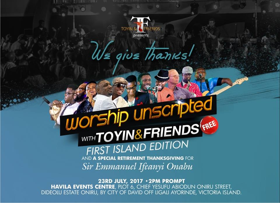 We Give Thanks! (Worship Unscripted Island Edition 1)