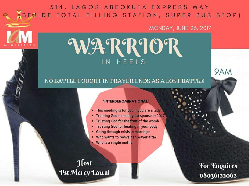 Warrior In Heels