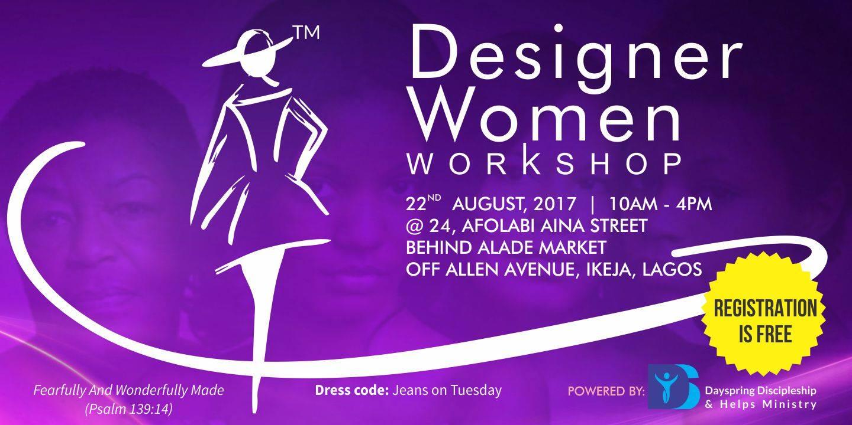 Second Annual Designer Women Workshop