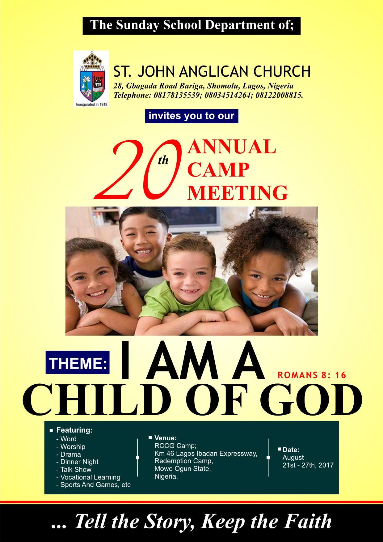 Annual Summer Camp Meeting