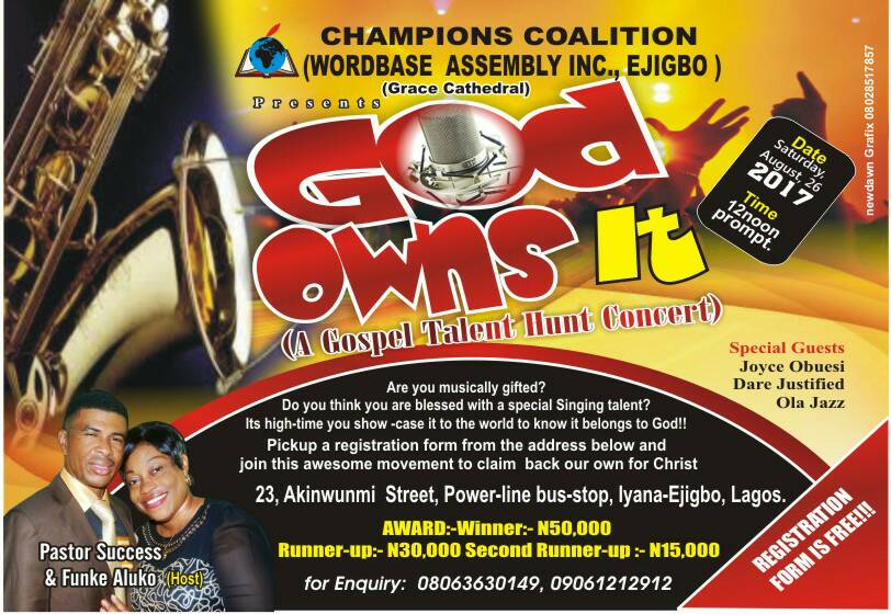 Gospel Talent HUNT Concert
