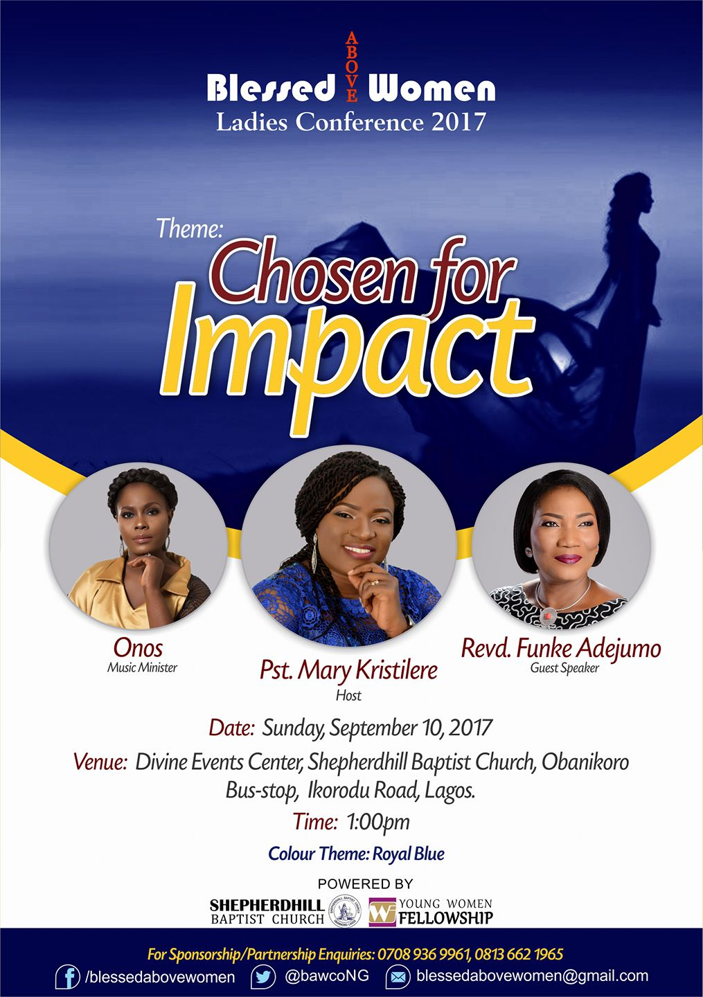 Blessed Above Women Ladies Conference BAWCO 2017