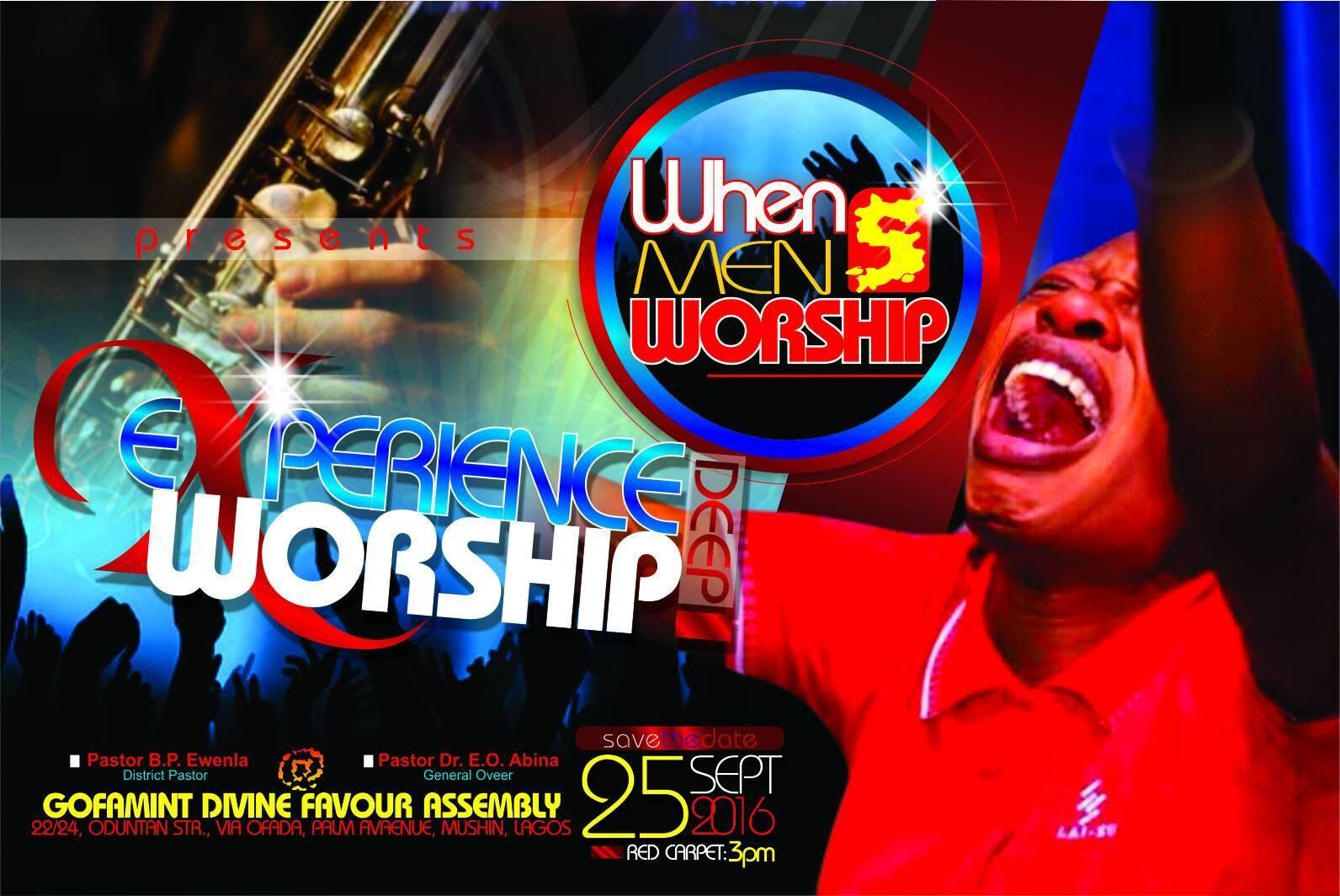 WHEN MEN Worship