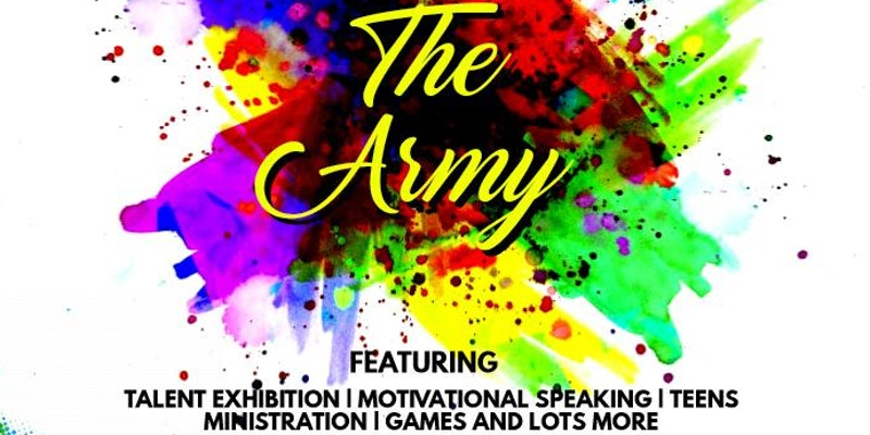 THE ANOINTED REIGNING MIGHTY YOUNG ADULTS (THE ARMY)