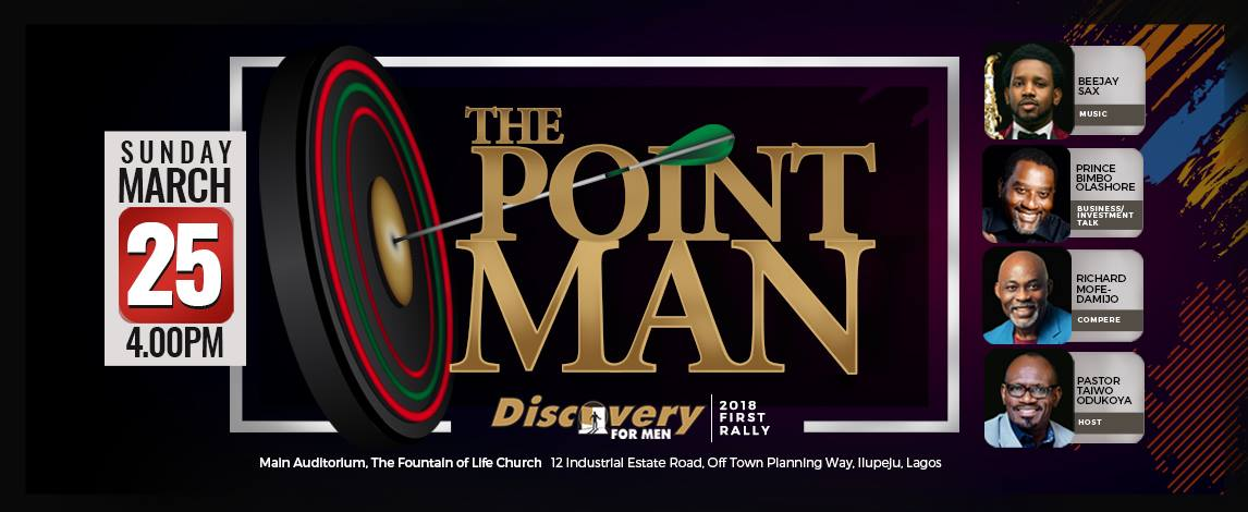 DISCOVERY FOR MEN - THE POINT MAN