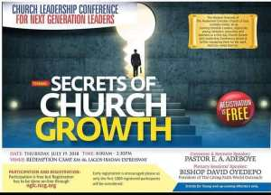 CHURCH LEADERSHIP CONFERENCE FOR NEXT GENERATION LEADERS