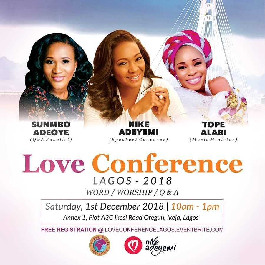 LOVE CONFERENCE LAGOS - 2018