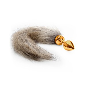 Fox-Tail-Buttplug-Gold